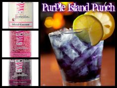 Pink Zebra recipe: Purple Island Punch. https://www.pinkzebrahome.com/MelWal
