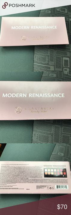 Anastasia Beverly Hills Modern Renaissance Palatte Brand new. Never used. Only opened to take pic and show. Sold out!! Any questions please ask. Anastasia Beverly Hills Makeup Eyeshadow