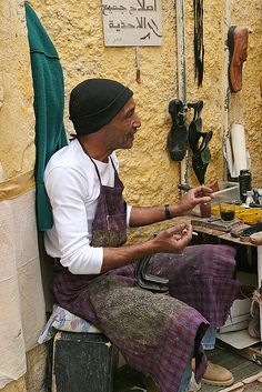Shoemaker - Fes, Morocco Fes, Tangier, Marrakesh, Casablanca, Rock The Kasbah, Fez Morocco, Morocco Travel, North Africa, African Art