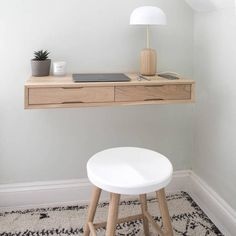 Urbansize Floating Oak Desk