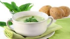 This brightly colored creamy soup is perfect for a Passover lunch accompanied by a salad or as a first course for a festive dinner. Spinach Soup, Baby Spinach, Celery Rib, Rustic Bread, Eat This, Stuffed Mushrooms, Stuffed Peppers, Dry White Wine, Spinach Leaves