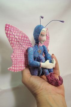 Tiny Flower Fairy from Fanciful Cloth Dolls