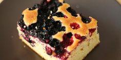 Recept: Finse blauwe bessen cake