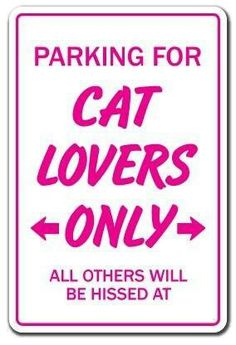 Cat Lovers Parking