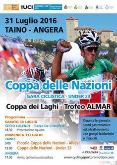 Coppa delle Nazioni ciclismo Under 23: Coppa dei Laghi a Taino e Angera