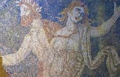Archaeologists working in the Amphipolis tomb in northern Greece have uncovered a new section of the stunning mosaic uncovered last week, which covers the entire floor space in the second chamber. The Ancient Greece, Present Day, Ancient History, Time Travel, Olympia, Archaeology, Fresco, Mythology, Mystery