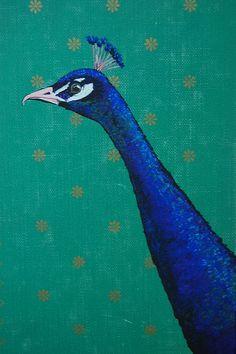 Lisa Callahan - peacock painting