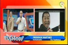 La Llamada De Frederick Martínez El Pacha Al Show Del Mediodía