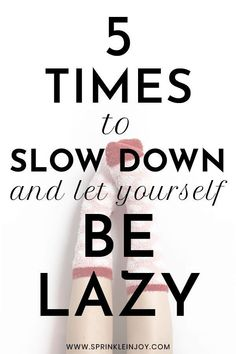 There will always be times in life when you should slow down, let yourself be lazy and rest your mind and body so you can keep going strong. Live For Yourself, Improve Yourself, Stop Being Lazy, Emotionally Drained, Feeling Lazy, Practice Gratitude, Self Care Routine, Slow Down, Positive Mindset