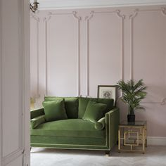 The Big Velvet Home Trend use velvet to reinforce a period styled property Again you don t need to add much more to create an elegant setting to a room This beautiful Hatfield grass sofa adds depth to the soft pink decor