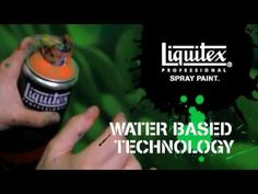 A Video From Liquitex demonstrating & introducing the NEW Liquitex Professional Spray Paints.