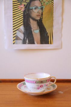 Royal Doulton Lrg Cup and Saucer Lillian Scalloped