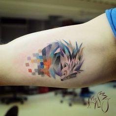 Love this as a geometric tattoo idea