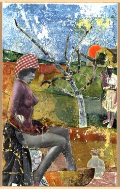upfromsumdirt:  callofdawild:  romare bearden the calabash 1970  not just my favorite bearden… not just my favorite collage… but perhaps my over-all favorite piece of artwork by anyone.