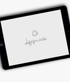 LifePuzzle - App concept on Behance