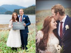 """Cute """"thank you"""" photo for use on thank you cards after the wedding.   photo: BrightEyed Photography"""