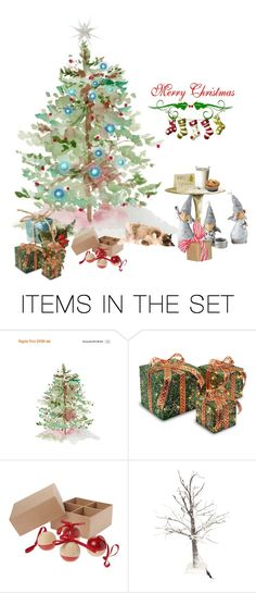 """""""Almost Ready"""" by enchanticals ❤ liked on Polyvore featuring art and Christmas"""