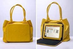 The ultimate tech-meets-style bag!  Must have. :-)