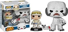 Funko Star Wars Pop! Vinyl Luke Skywalker and Wampa 2014 SDCC Exclusive Set