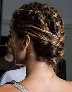 Stunning Updos That Mean You Will Never Have A Boring Hair Day Again Braided Pigtails Braided Hairstyles For Wedding, Summer Hairstyles, Bun Hairstyles, Updo Hairstyle, Hairstyle Ideas, Party Hairstyle, Bridal Hairstyles, Protective Hairstyles, French Braid Updo