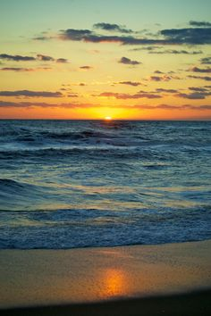 Outer Banks sunrise (by Karen Blaha)  Atlantic Beach, NC Checked off list!