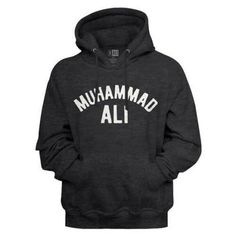 Muhammad Ali Ali Men's Sweatshirt with Hood Muhammad Ali Boxing, Rumble In The Jungle, Champion, Float Like A Butterfly, Movie T Shirts, Funny Shirts, Boxing Training, Cool Hoodies, Mens Sweatshirts