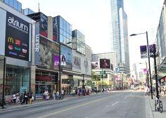 Yonge Street, south of Edward St.