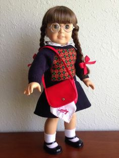 Oh jeez was I in love with American Girl Dolls as a child. Molly was probably my favorite