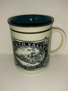 Death Valley Twenty Mule Team Collectible Coffee Mug Borax