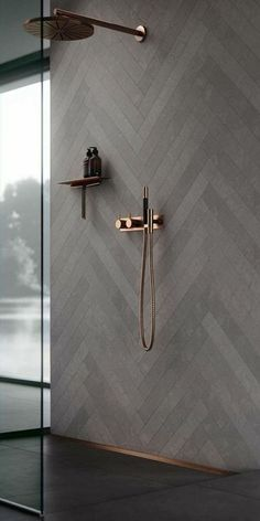 30 Amazing Small Bathroom Wall Tile Ideas To Inspire You Amazing Small Bathroom Wall Tiles 2418018 Copper Bathroom, White Bathroom, Bathroom Wall, Bathroom Ideas, Bathroom Organization, Minimal Bathroom, Bathroom Showers, Bathroom Modern, Remodel Bathroom