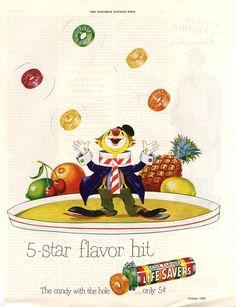 Clown - Life  Savers Ad