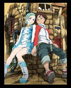 Eureka Seven one of the best Animes of all time