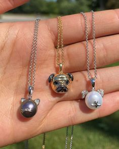 The purr-fect necklaces for pet lovers! 🐶 🐈  #InternationalCatDay Item #: 931226, 923138, 933963