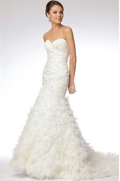 Beautiful and Pretty Mermaid Style Wedding Dress