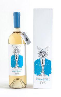 "Furfangos - Elegant fox for a ""fox maniac"" winemaker"