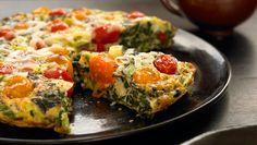 spinach tomato fritt