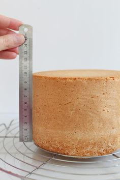 The 'Genoise of Aline Costa' - perfect for Cake Design Published with the acc . - Projets à essayer - Healt and fitness Food Cakes, Bolo Genoise, Haute Cakes, Angel Cake, Chiffon Cake, Sponge Cake, Savoury Cake, Fondant Cakes, Layer Cakes
