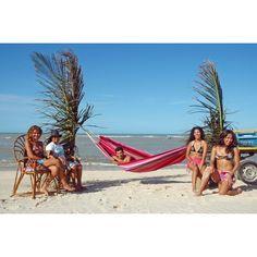 Amazonas Barbados grenadine Hængekøje (pink)