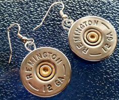 Shotgun Shells Crafts | Remington 12 Ga. shotgun shell earrings. | Craft Ideas