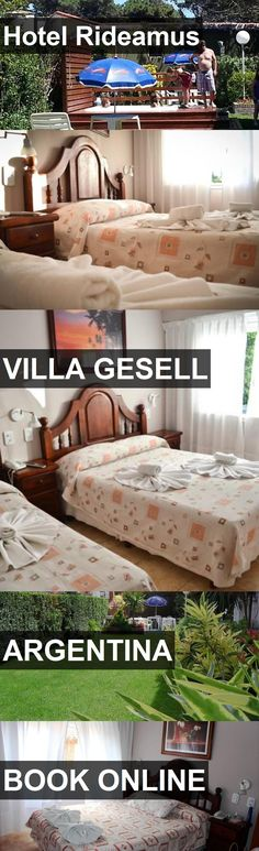 Hotel Rideamus in Villa Gesell, Argentina. For more information, photos, reviews and best prices please follow the link. #Argentina #VillaGesell #travel #vacation #hotel