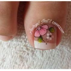Print Tattoos, Pretty Pedicures, Nail Arts, Designed Nails, Toe Nail Art, Pretty Toe Nails, Simple Toe Nails