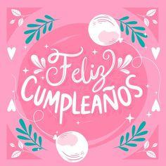 Spanish Birthday Cards, 21st Birthday Cards, Happy Birthday Girls, 27th Birthday, Happy Birthday Images, Birthday Wishes, Birthday Invitation Card Template, Princess Birthday Invitations, Happy B Day
