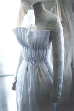 Toile look inside the atelier for Christian Dior haute couture s/s 2012