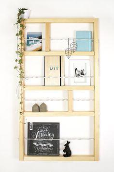 DIY Ypperlig Wandregal von Ikea selbst bauen