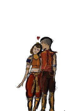 Sokka and Suki<3 Suki And Sokka, Avatar Couple, Legend Of Korra, The Last Airbender, Tv Shows, Halloween, Couples, Drawings, Books