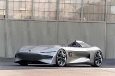 INFINITI Prototype introduced at the 2018 Pebble Beach Concours d'Elegance, looks forward to a fully electric future. A prototype battery held under the flat floor powers a prototype electric motor. Toyota Concept Car, Citroen Concept, Mercedes Concept, Bmw Concept, Mercedes Benz, Crossover, Nissan, Toyota Hybrid, Automobile
