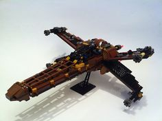 LEGO Steampunk Star Wars Spacecraft