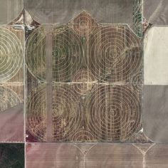 @instagram - I'm sticking with SQUARES!  Near Idaho Falls, Idaho.  #grid #landscape #aerial #photography #earth #squaremile #square #agriculture #nofilter