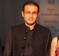 Virender Sehwag for India Couture Week 2014