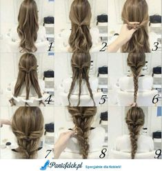 Hairstyle Tutorials with Pictures Step by Step Guide - Fishtail Braid Hairstyle